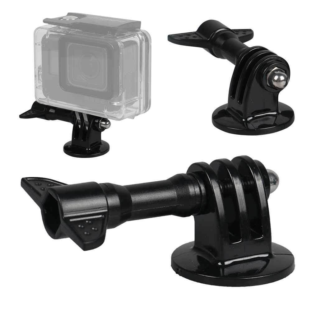 Fuan Olahraga Luar Ruangan Rangka Kamera Aksesoris Dudukan Tripod Adaptor GoPro Hero HD Hero2 Hero3 3 + 4 5-2 Pack
