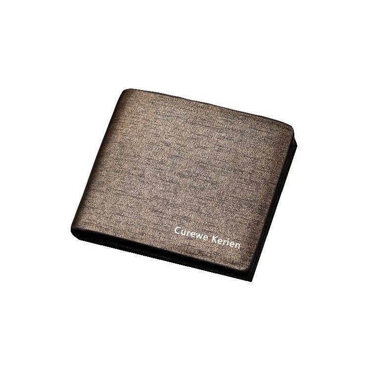 Curewe Kerien AP022 WLT-022 Men Premium Leather Short Wallet