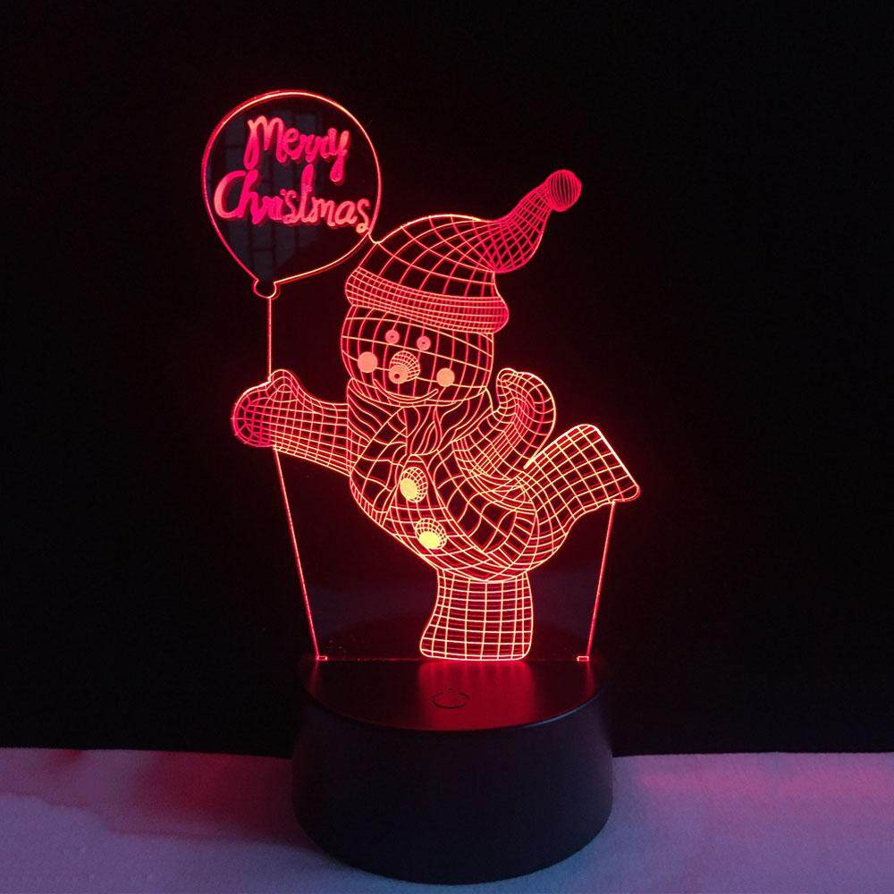 3D Modern DC 5V Touch Switch Christmas Gifts Desk Light Night Light Table Lamp Singapore