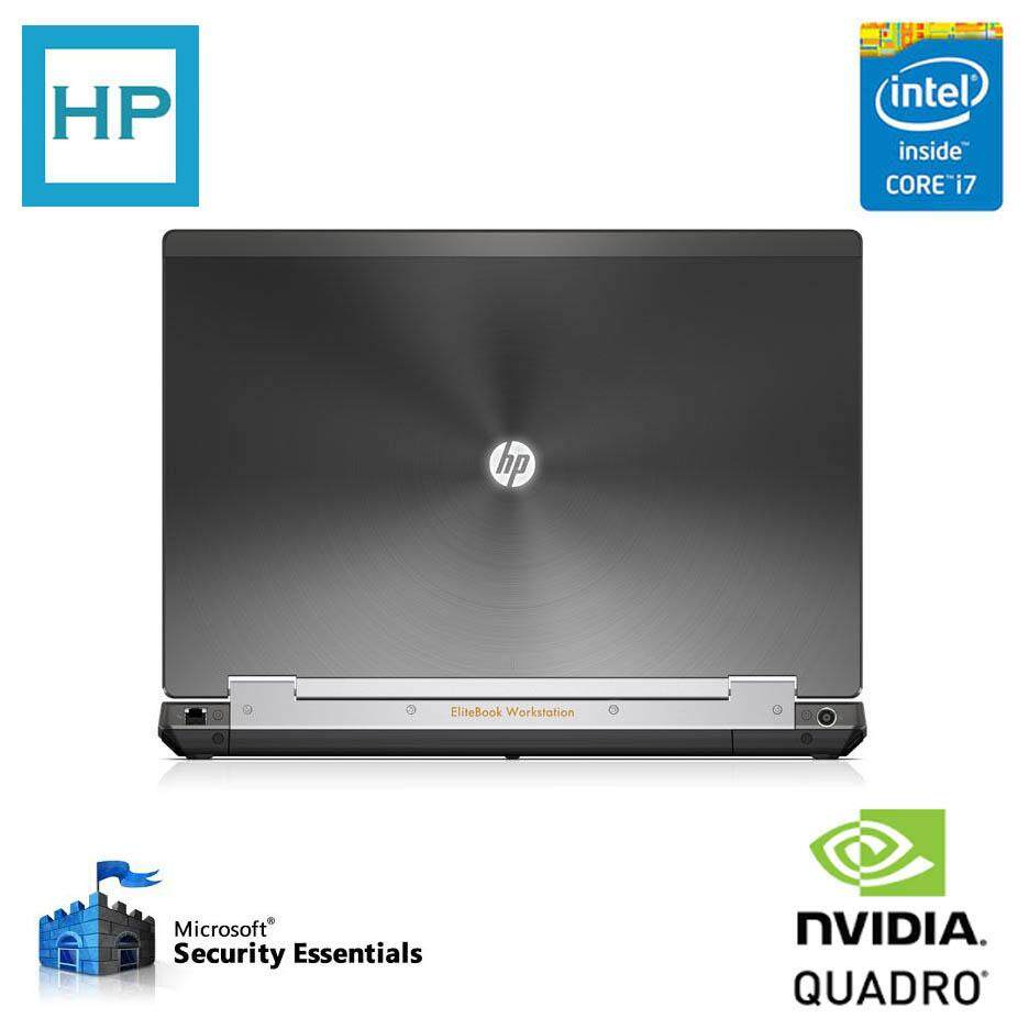 *RM2499 00* HP WORKSTATION 8770W - CORE i7 QUAD CORE
