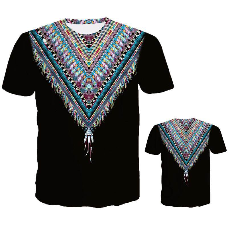 48abbd84b79c Summer Europe and America New Shirt Digital Printing 3D Printing T-shirt  Street Youth Short