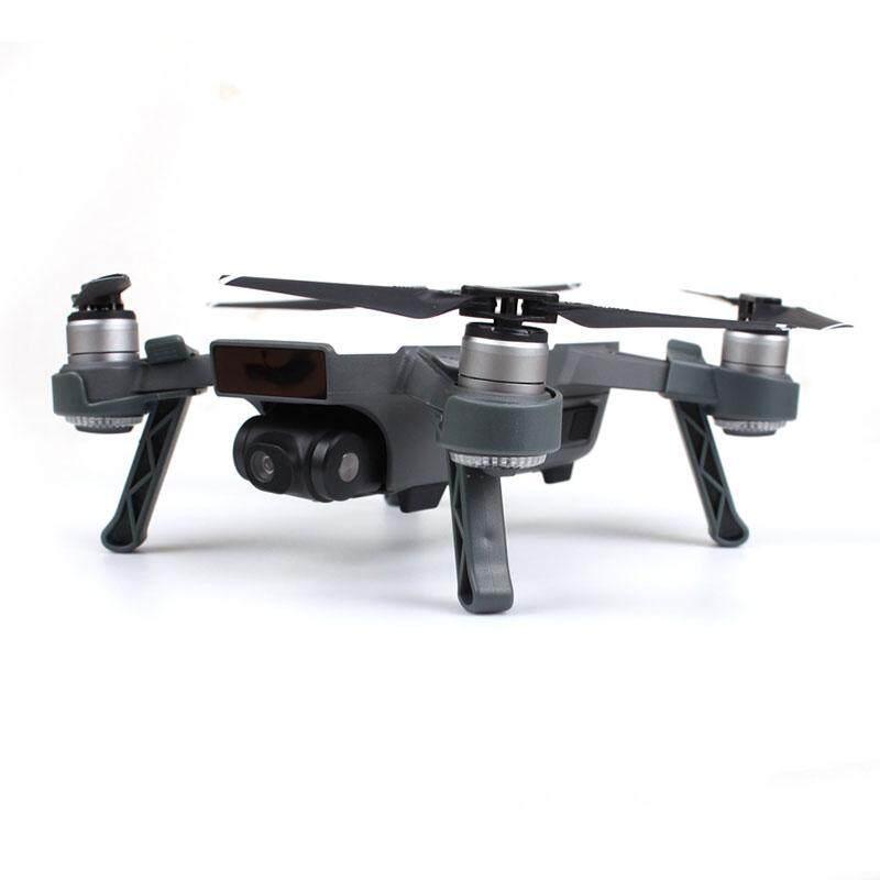 Hình ảnh ABS Drone Leg Height Extender Landing Gear PTZ Protector For DJI Spark - intl