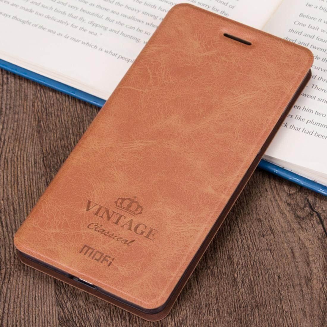 MOFI for Xiaomi Redmi Note 5 Pro Crazy Horse Texture Horizontal Flip Leather Case with Holder