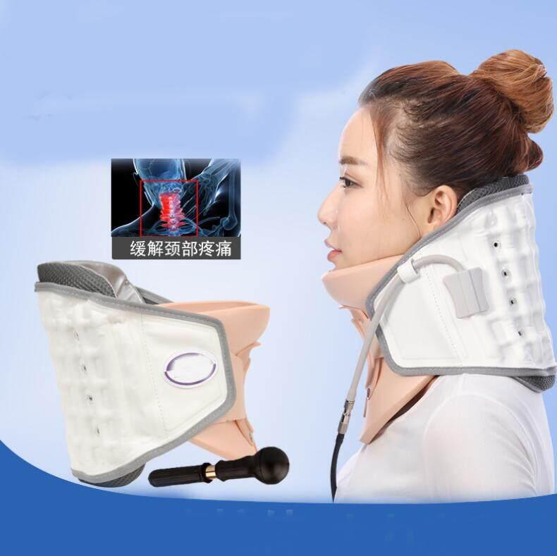 Neck Traction Device Household Stretched Cervical Traction Inflatable Cervical Spondylosis Cervical Collar Hanging Neck Frame nhập khẩu