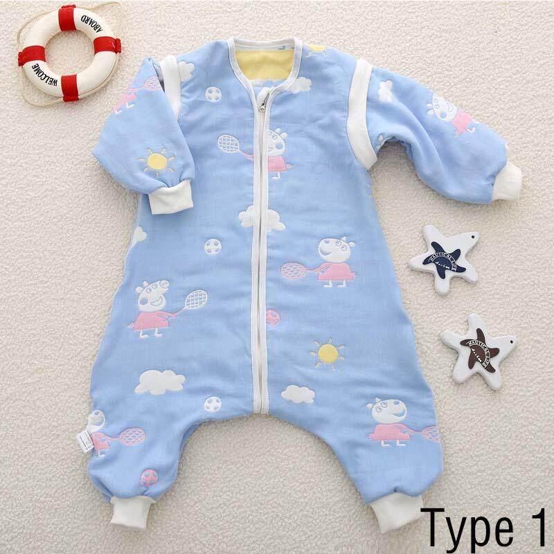 เด็กถุงนอนเด็ก Catroon รูปแบบผ้าฝ้าย Sleepsack สำหรับเด็กทารกเด็กวัยหัดเดินเด็ก - Type 1 - Intl By Aprillan International Store.