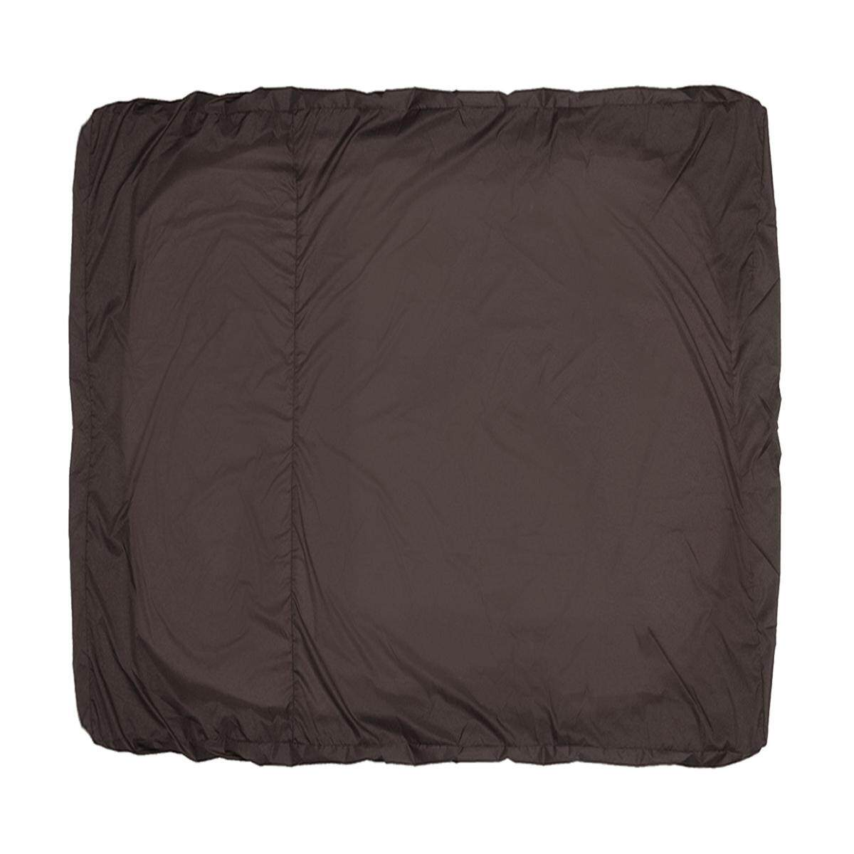 Hot Tub Cover All-Weather Protector - Spa Cover Harsh Weather Guard Brown (236*236*30cm)
