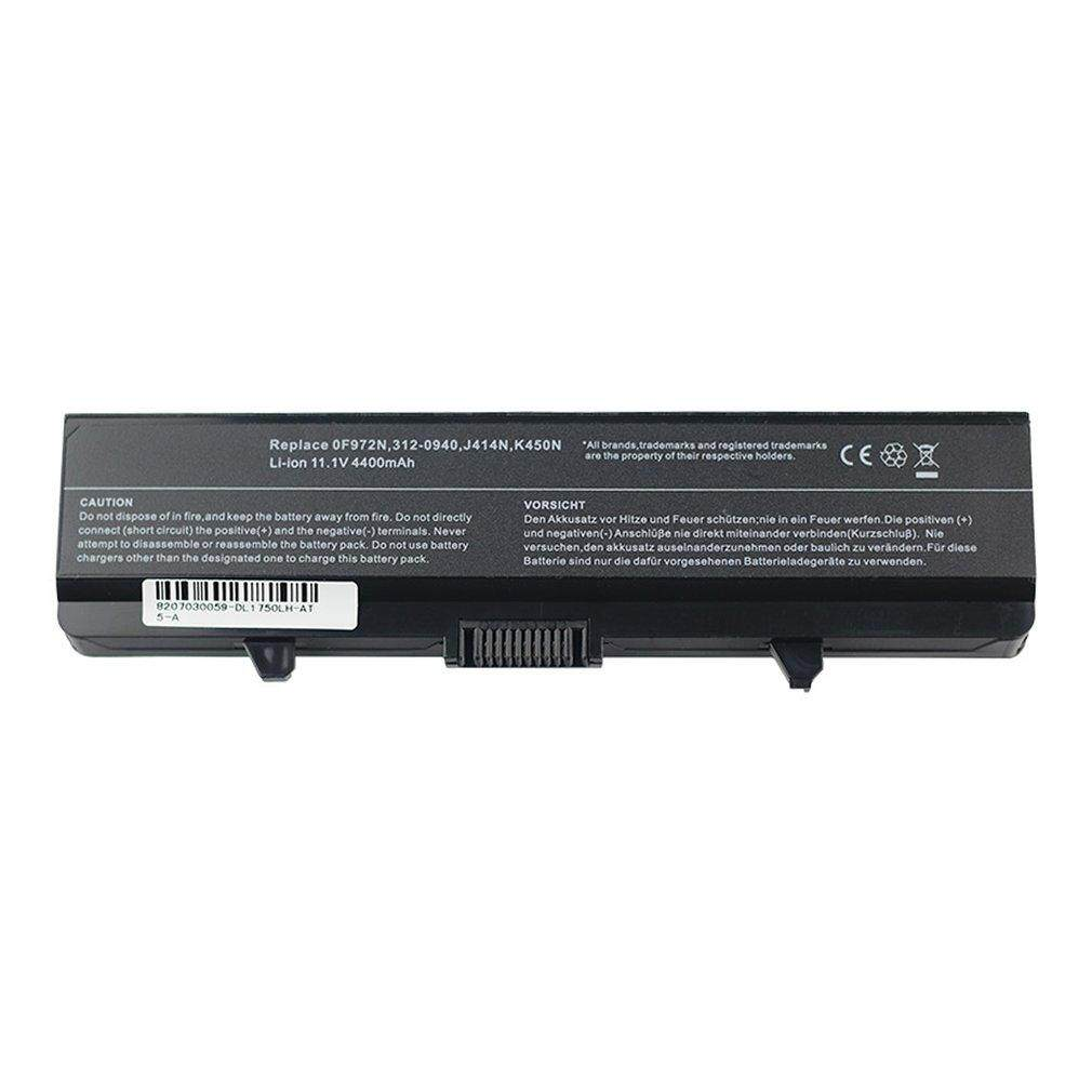 Hot Sales Shockproof 11.1V 4400mAh Laptop Battery Suitable for Dell Inspiron 1440