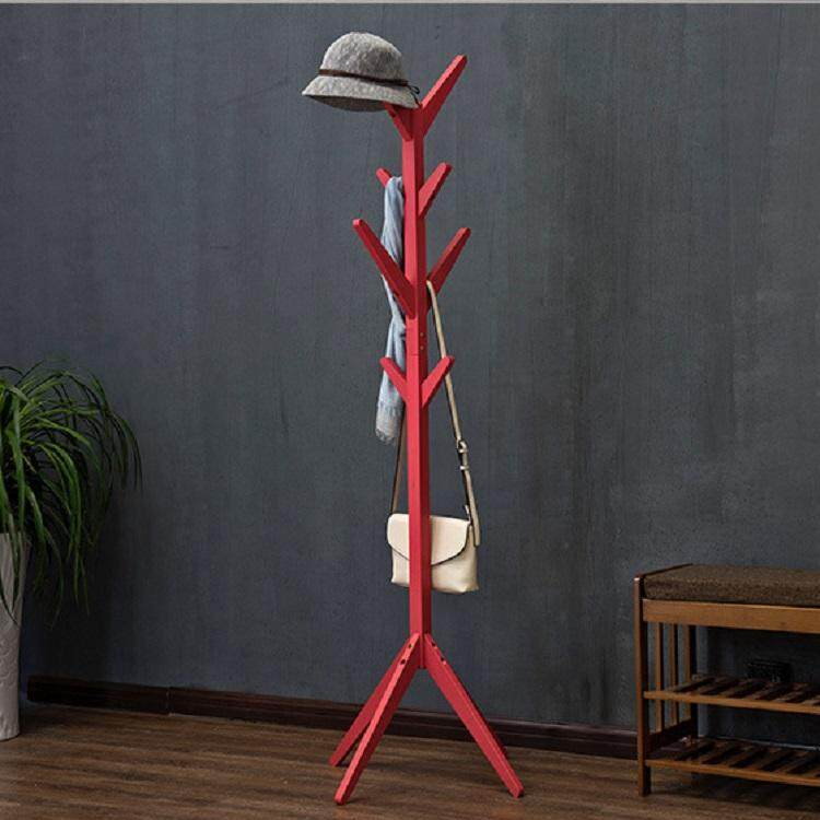 Olive Al Home Coat Rack /  Coat Tree / Wood Standing Coat Tree For Clothes
