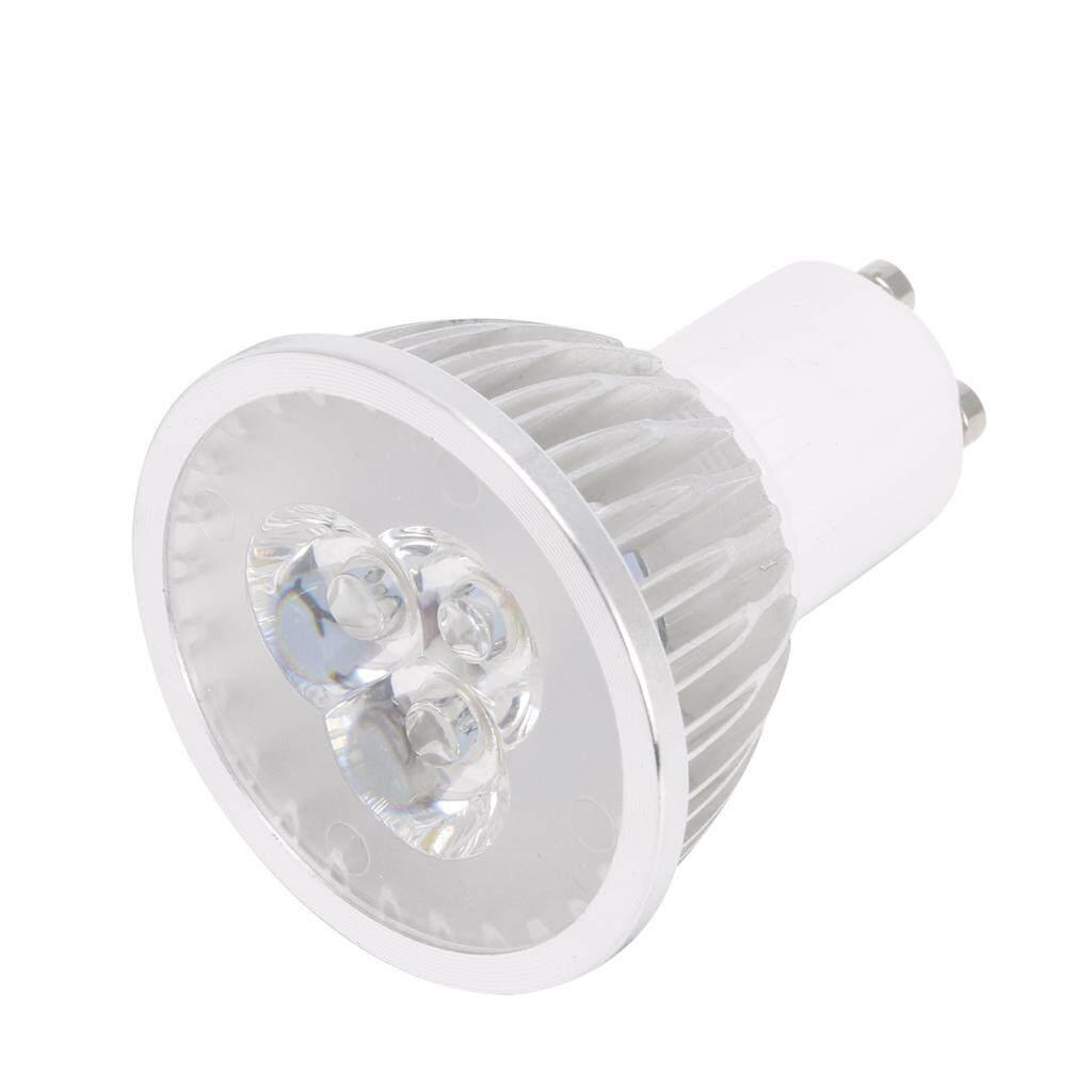 Hot 3 W 3x1 W Gu10 Led Lampu Putih Murni Bohlam Lampu Sorot Daya Tinggi 170 V-240 V By Royallove.