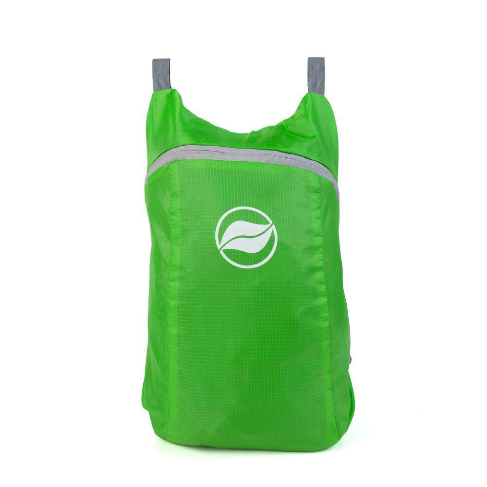 Sunfield 16l Polyester Pu Coating Triangle Reinforced Waterproof Ultra-Light Foldable Backpack - Green By Uni-Shop.