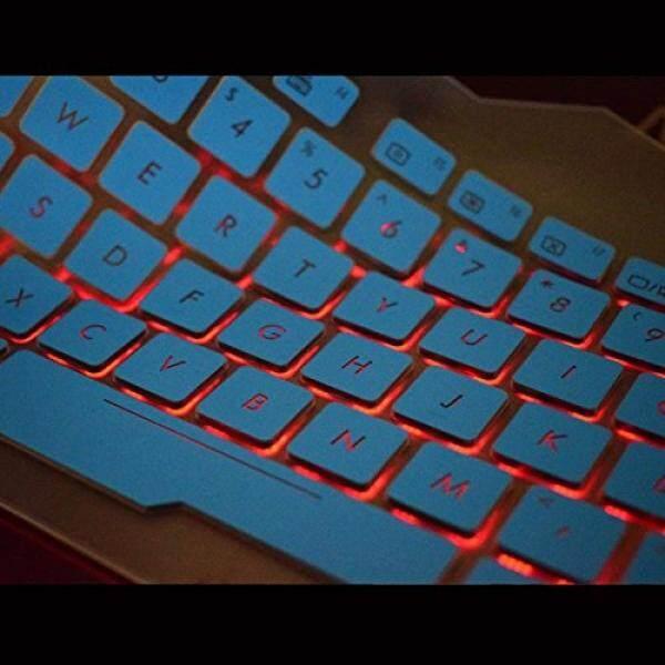 Keyboard Kulit Leze-Ultra Tipis Keyboard Sampul untuk ASUS ROG Strix GL753 GL753VD GL753VE GL553 GL553VD GL553VE, ZX53VW Gaming Laptop-Lampu Latar-Internasional
