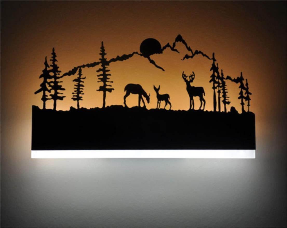 AGWS LAMP Creative Modern Led Wall Light For Living Room Beside Room Bedroom Lamps Led Sconce Bathroom Wall Lamp Led Lustres - intl