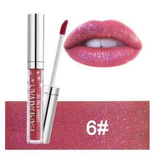 4 Ml Handaiyan 7 Warna Berkilau Lipstik Tahan Lama Tidak Lengket Anti-Air Liquid Lipgloss-Internasional thumbnail