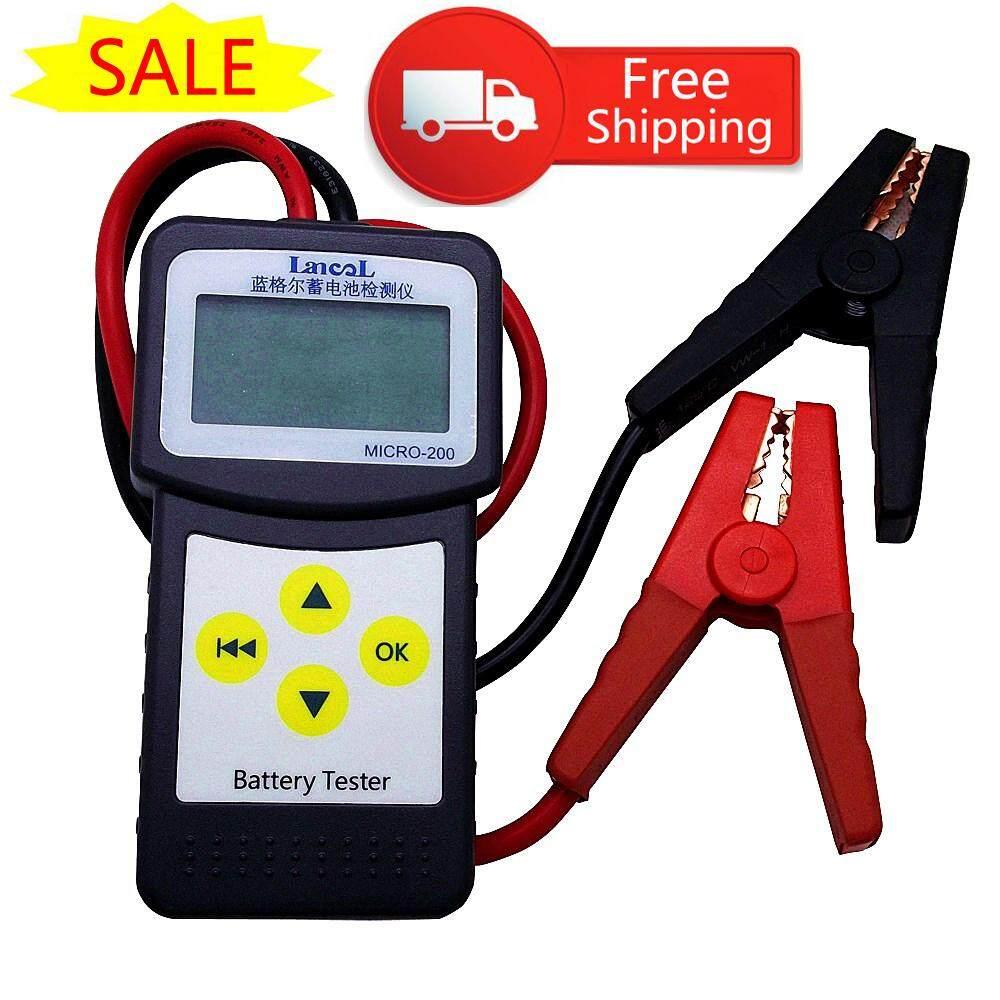 LANCOL Micro-200 12V Car Battery Tester Diagnostic Tool Digital Battery Analyzer