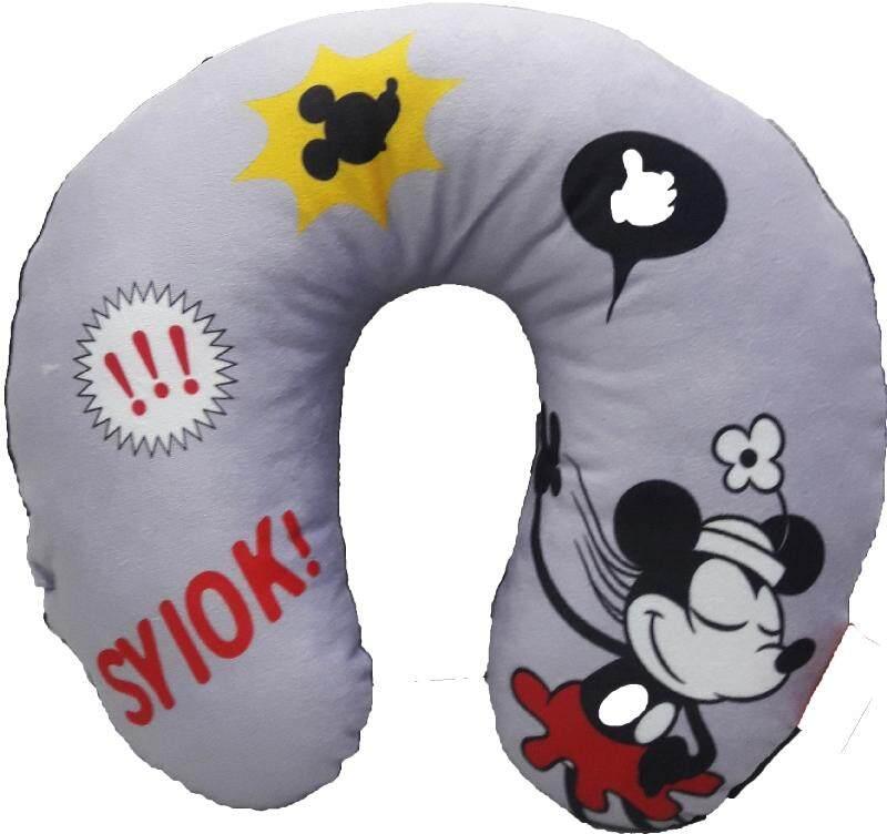 Disney Go Local X Disney Mickey Neck Cushion #Syiok