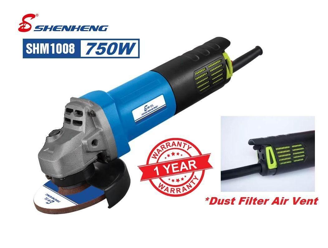 ShenHeng 750W 4 Angle Grinder with Dust Filter SHM1008 - Heavy Duty 1year Warranty