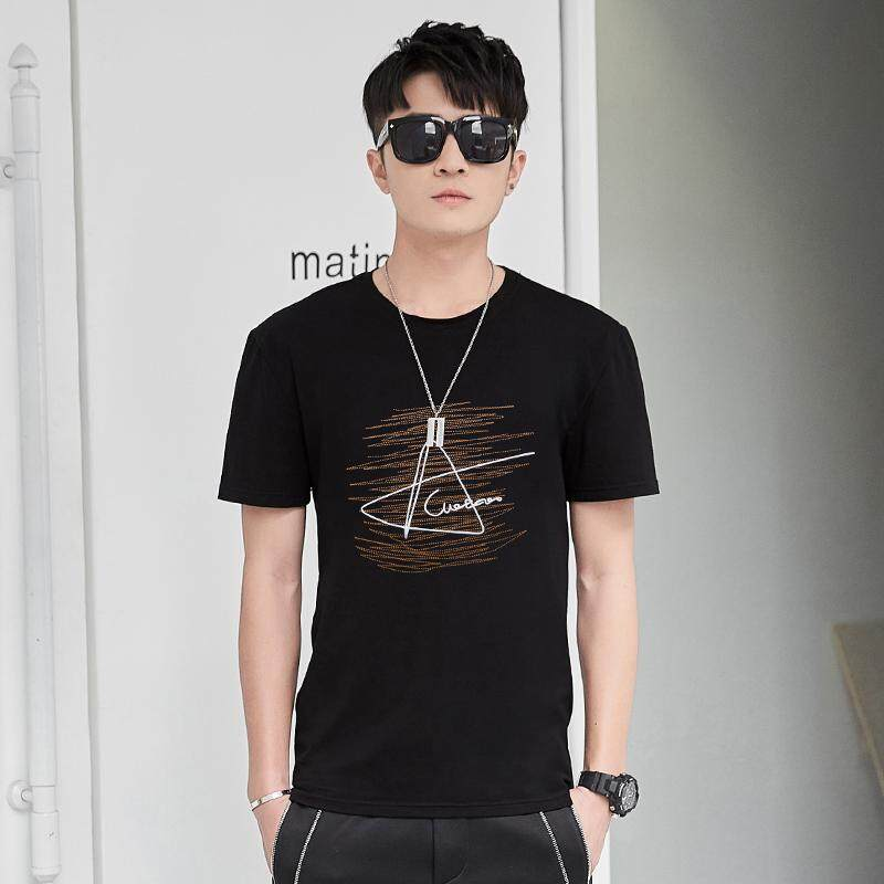 Fashion T shirts Men's Short Sleeve art Design Summer male Tops Tees Casual Shirts O neck