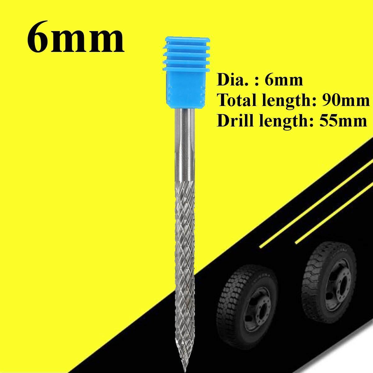 Lốp Lưỡi Cắt Hợp Kim Dụng Cụ Máy Khoan Có Ngăn 1/4 6mm Bit Cao Carbide Burr By Autoleader