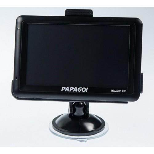 Papago! WayGo! 500 GPS Travel Monitor (5' HD Touch Screen, Bluetooth 2.1, TPMS 300 Supported)
