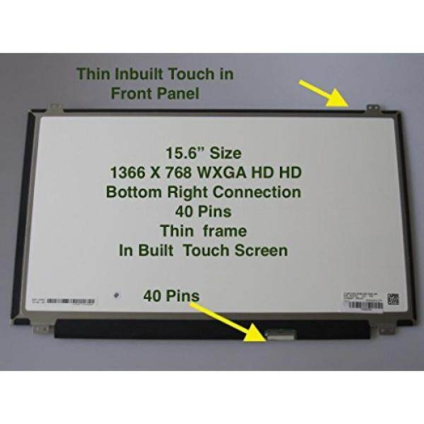 Laptop Replacement Screens New HP TouchSmart 15-AC 15-AC121dx 15.6