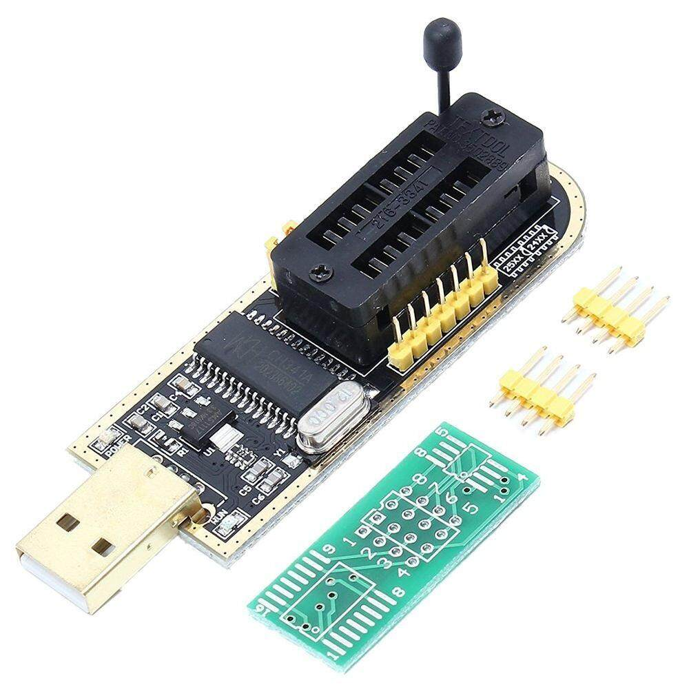CH341A 24 25 Seri EEPROM TTL Router Blitz BIOS Universal USB Programmer-Internasional