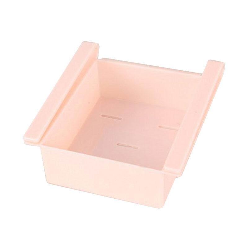 Fridge Freezer Slided Kitchen Organization Storage Box Rack Shelf Holder Tool - intl