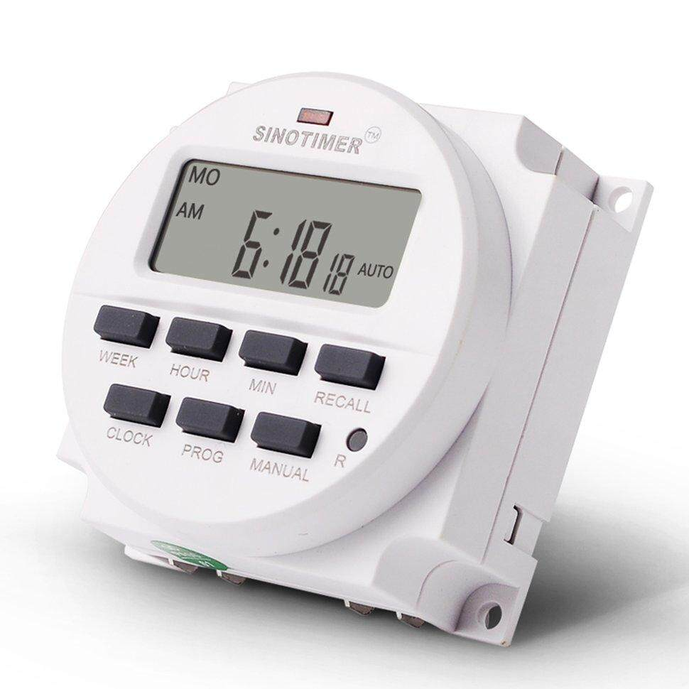 BGD SINOTIMER TM618N-6V 6V Programmable Timer Switch with Countdown Time Function