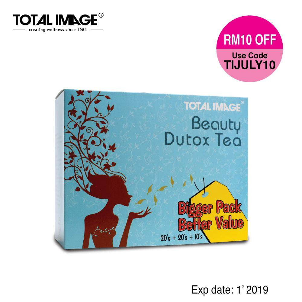 Total Image Beauty Dutox Tea 20s+20s+10s (Detox) (Expiry 1'2019)