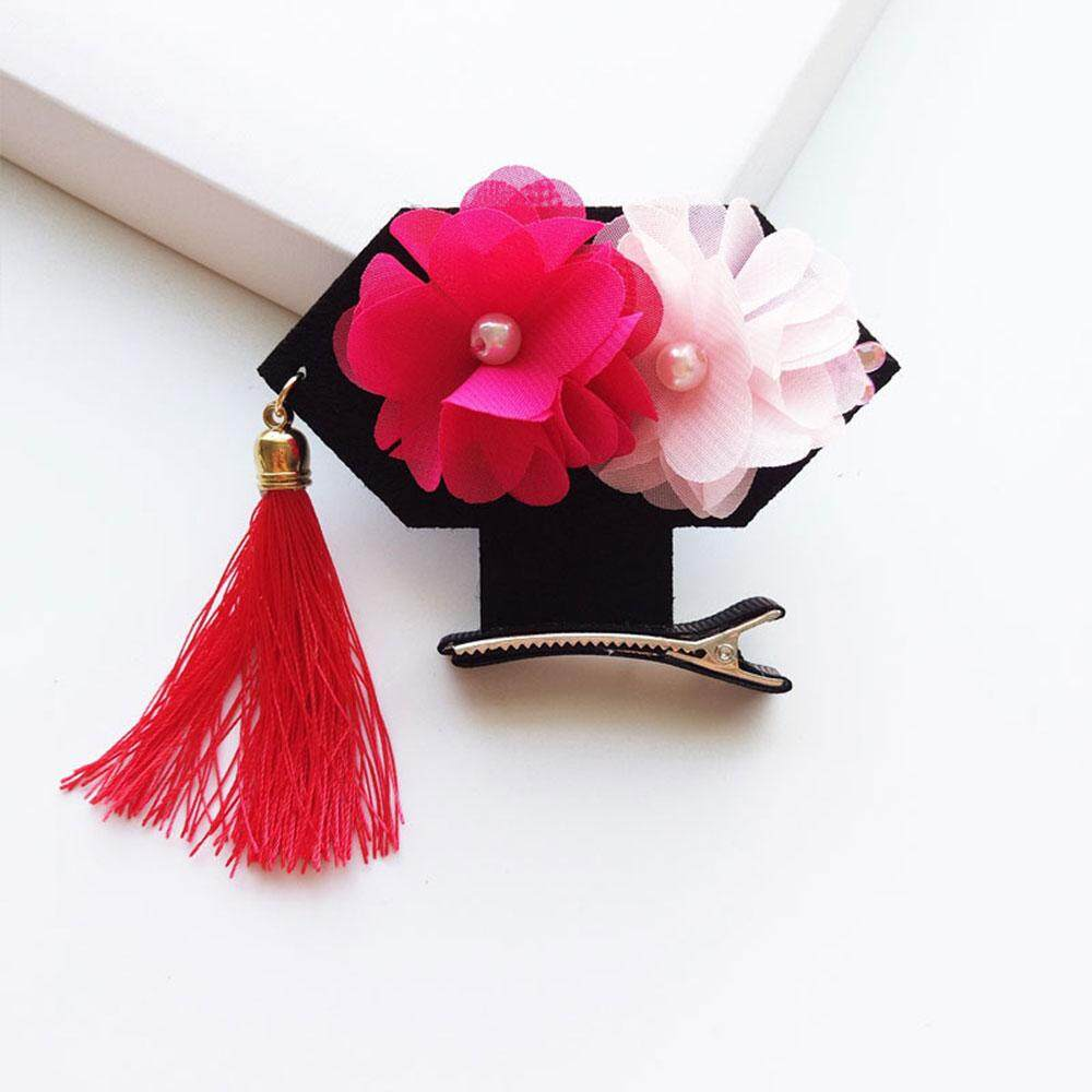 Cenita Fast delivery Tassel Hairpin Hair Clip Gift Jewelry Barrette Accessory For Female/Girls - intl