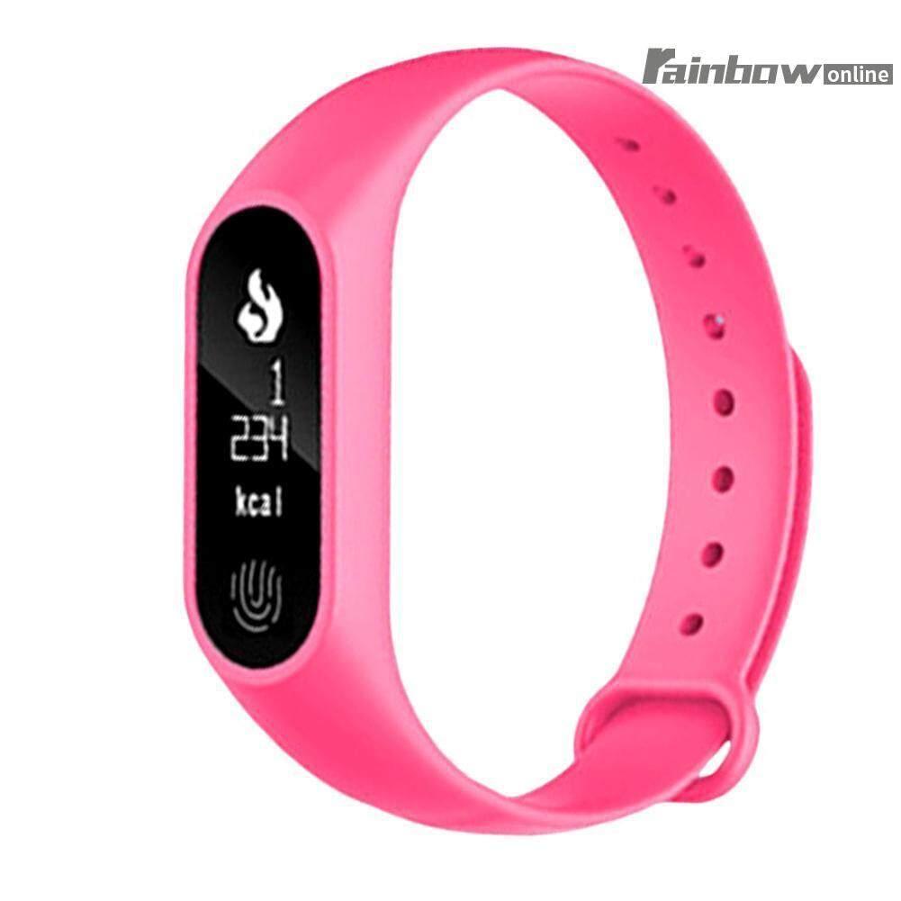 M2 Smart Wristband Sports Bracelet Pedometer Heart Rate Monitor - intl