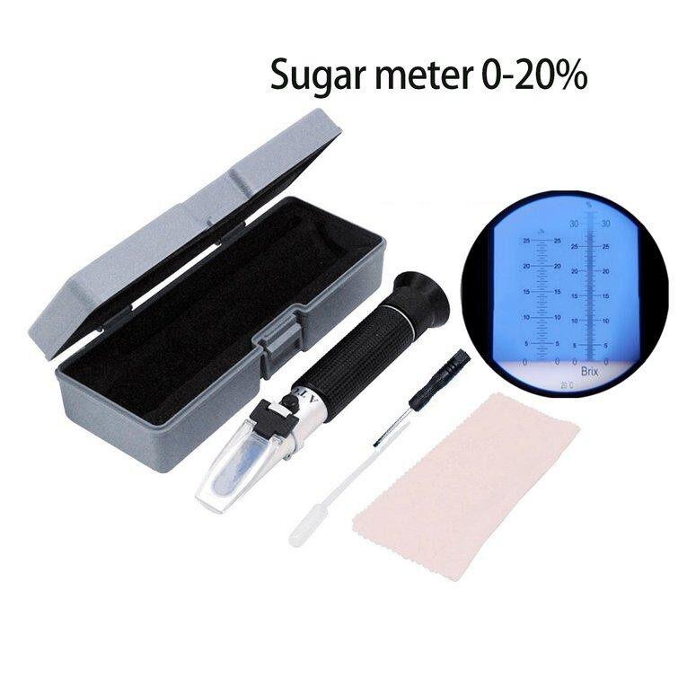 OSMAN 0-32% Handheld Refractometer Sugar Meter Fruit Saccharimeter Measuremen Tool
