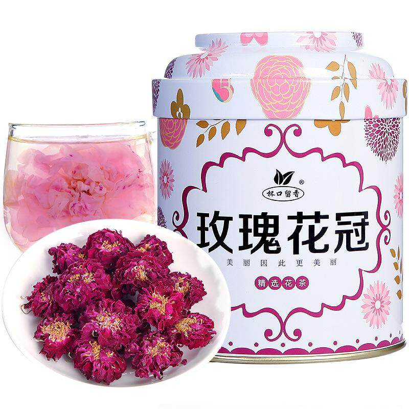 Rose Crown Tea Cup Mouth Fragrant Tea Pingyin Rose Rose Tea Rose Tea-30g By Old Diver Store.