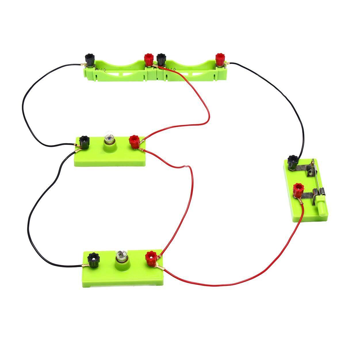 Features Technic Electronics Blocks Kit Kids Toys Snap Circuits Electronic Circuit Toy Electric Student School Science Montessori Educational New