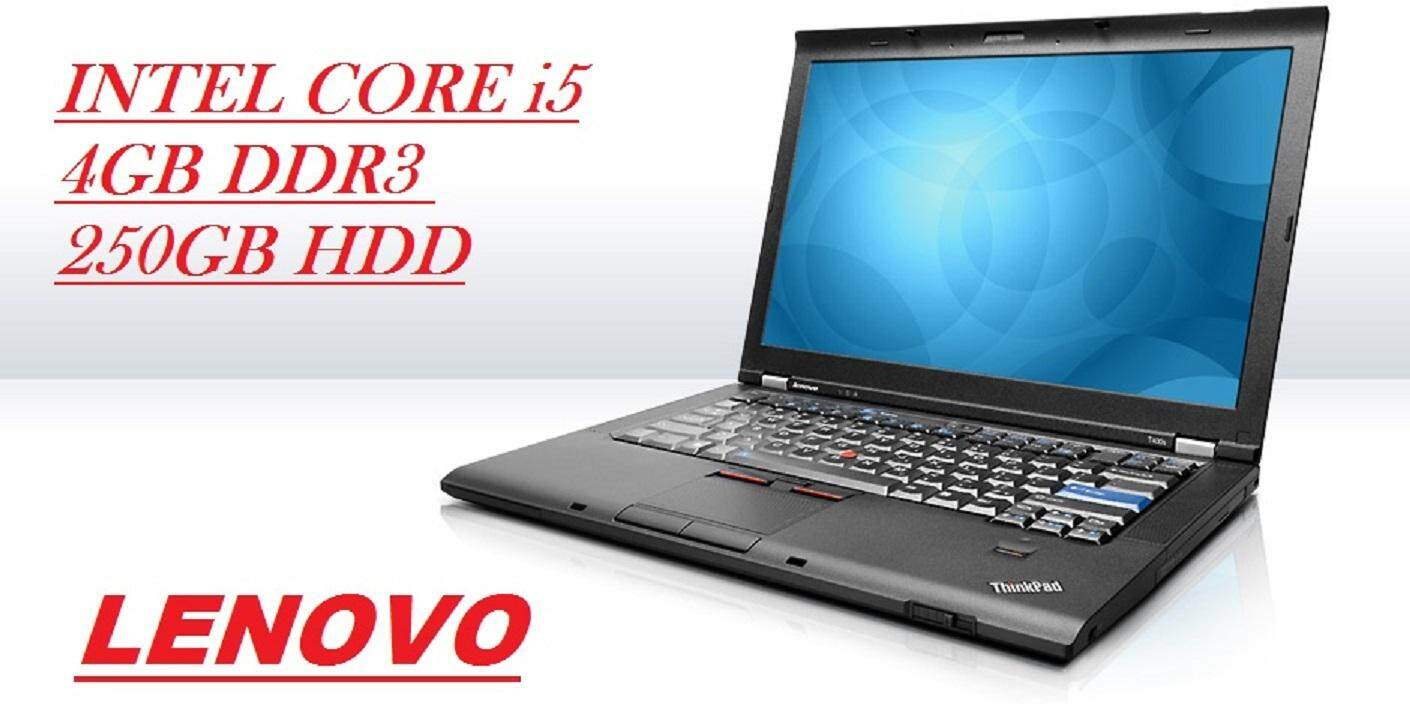 (REFURBISHED)LENOVO THINK PAID T510  INTEL CORE i5 M520 2.4GHZ/4GB DDR3/250GB HDD/INTEL HD GRAPHIC/15.6 LED SCREEN/WIN 7 PRO Malaysia