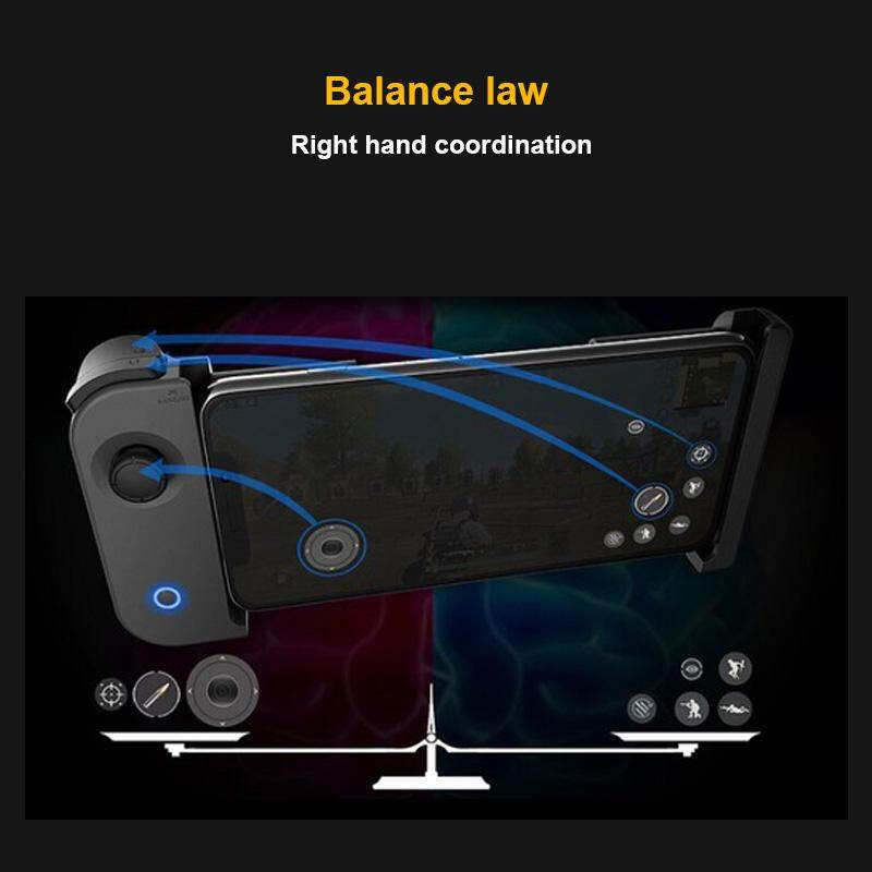 ... YBC PUBG Rules of Survival Wireless Bluetooth Gaming Controller for iPhone Android Gamepad Triggers for -