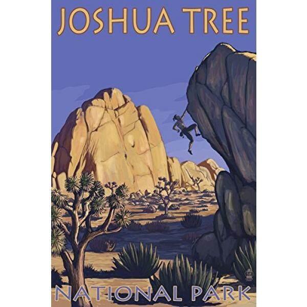 Celemek Pohon Joshua Taman Nasional, CA-Boulder Climber-Intl