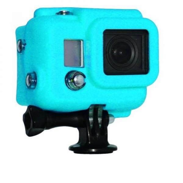Xsories Silikonh? Lle MIT Blendschutz F? R Kamera GoPro HD HERO3, Blau-Intl