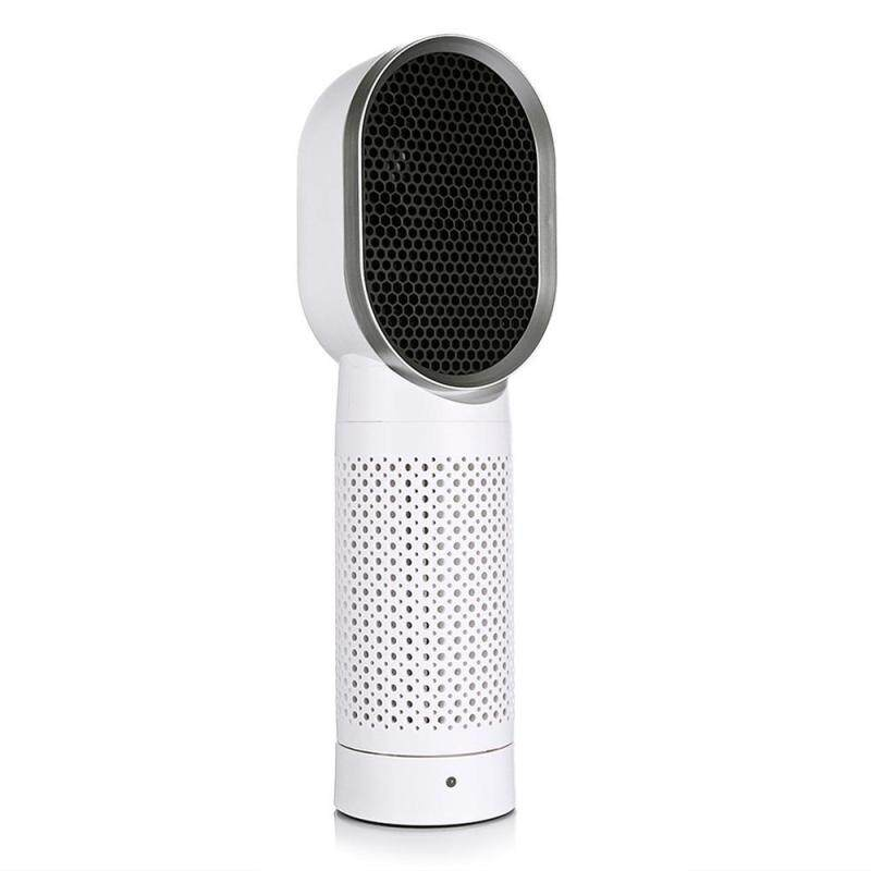 weishi Ultra Quiet Air Purifier - Negative Ions Desktop Air Cleaner With HEPA Filter, Compact Odor Allergen Eliminator Cleaner For Home, Pets, Smokers, Cooking - intl Singapore