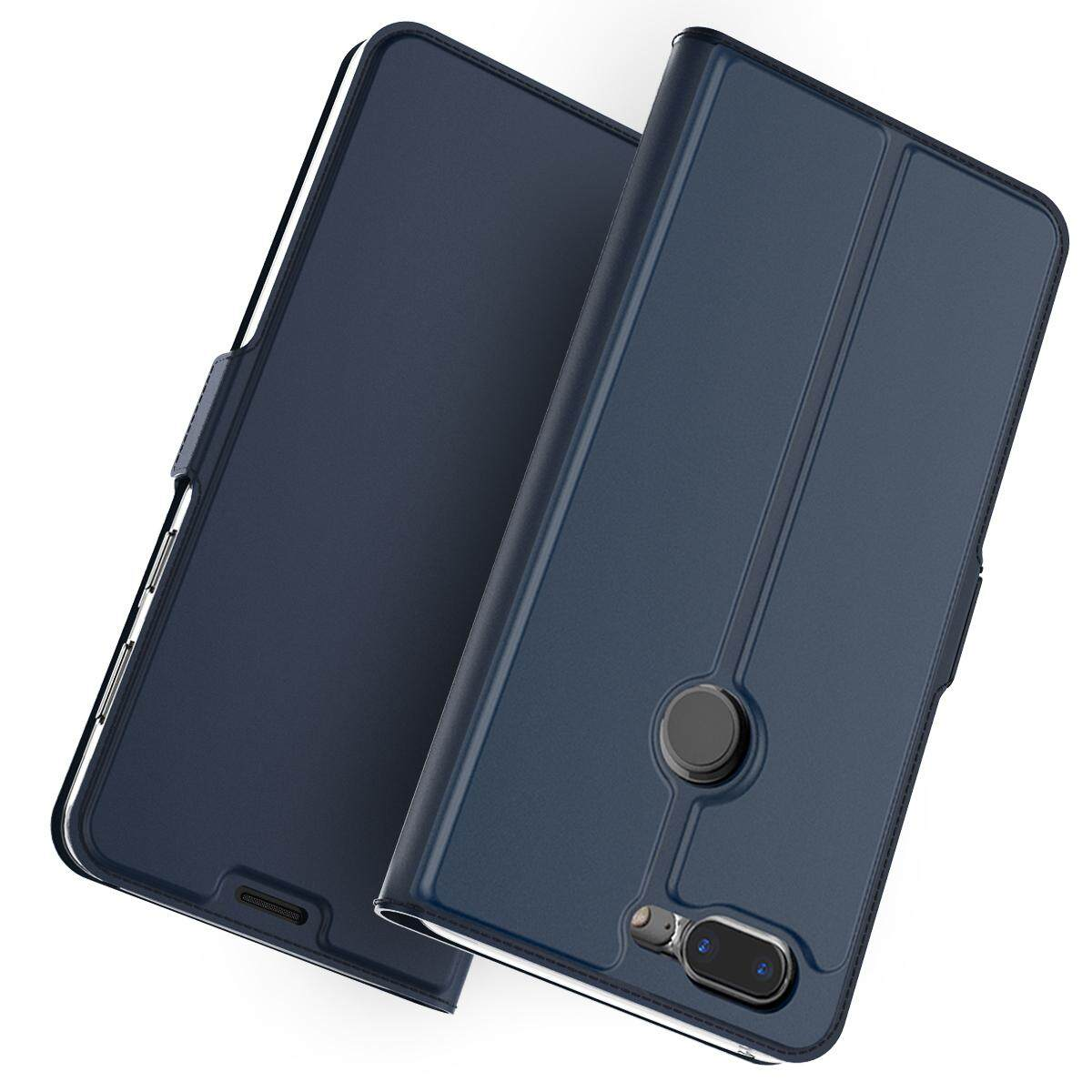 Detail Gambar Moonmini Case Cover for Huawei Honor 9i Case PU Leather Flip  Stand Wallet Case Full Body Pocket Cover with Card Holders and Magnet  Buckle ... 60368fe140