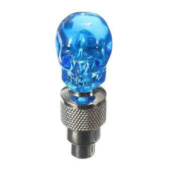 Cheapest today 2X Valve Cap Wheel Tire LED Light Lamp for Motorcycle Bicycle Car, Blue ล่าสุด - มีเพียง ฿80.50