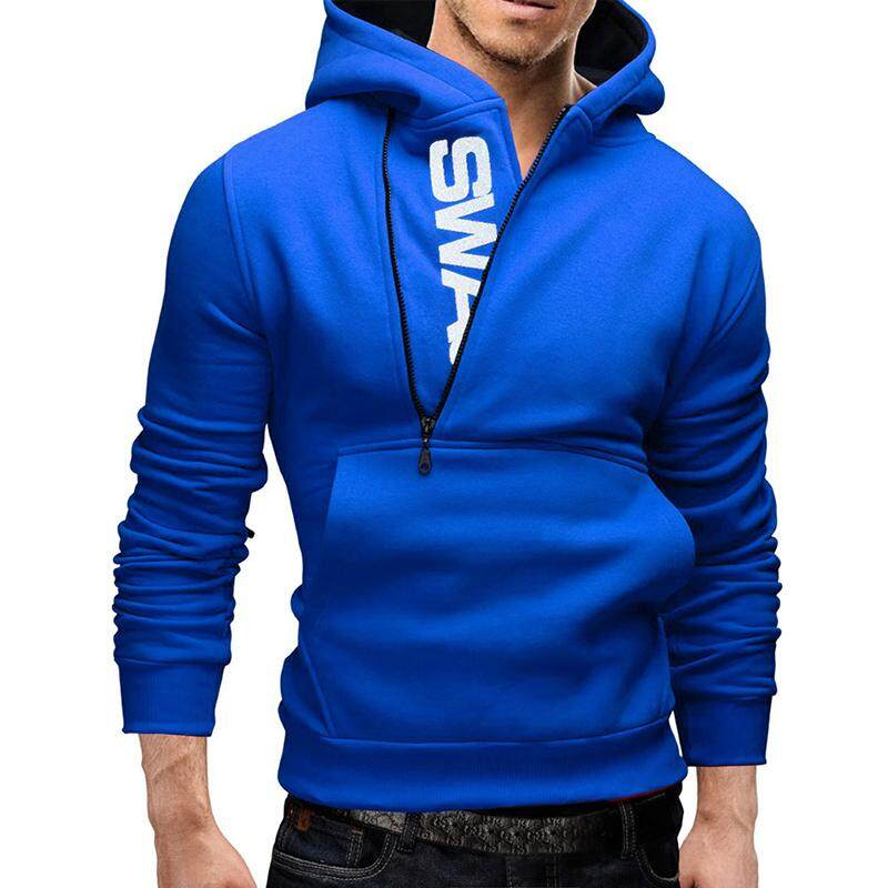 Big Sale Men Fashionable Hoodie Letter Logo Casual Sweatshirts Hooded Pullover Top By Four Season Big Sale.
