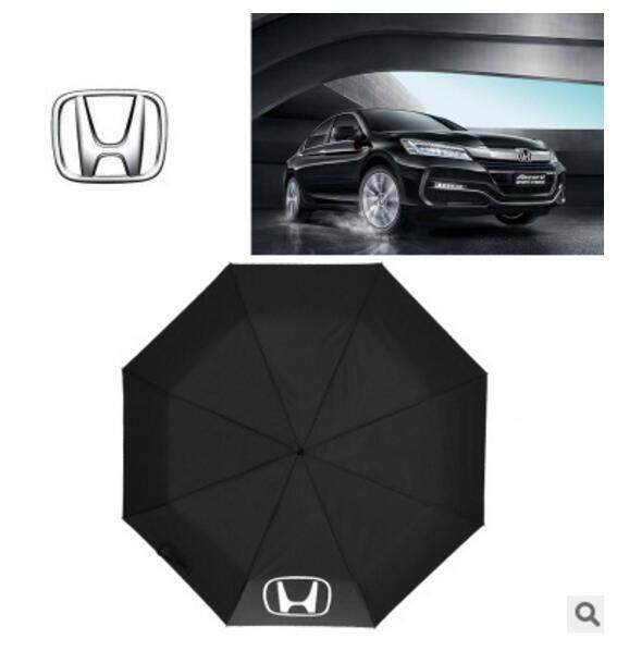 Automatic Folding Umbrella Rain Men Car Logo Windproof Business Quality Pattern Black Umbrella For Honda Civic Accord Crv Fit Jazz Dio City Hornet 600 Hrv Cbr Crv By Fashion In Car.