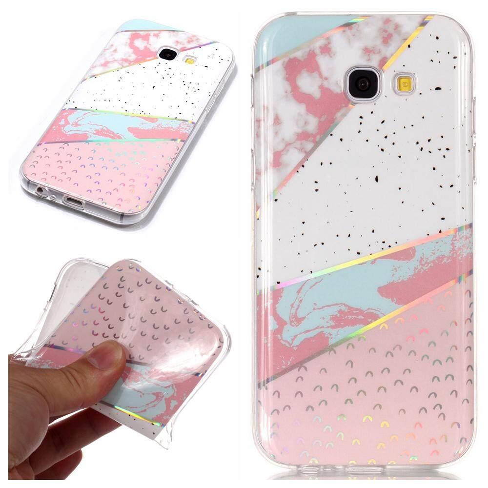 Moonmini Case untuk Samsung Galaxy A5 (2017) A520 Kreatif Pola Batu Kelereng Fleksibel TPU