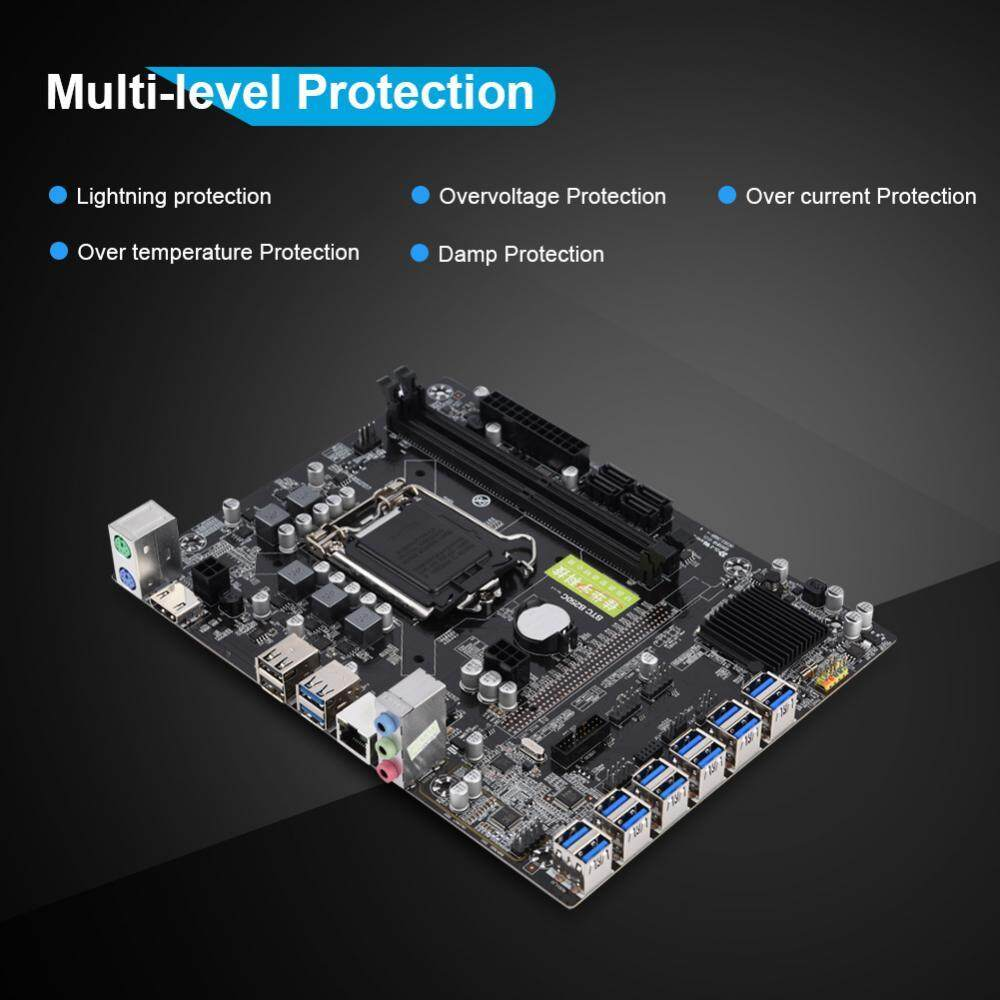 The Price Of Biostar Tb250 Btc Intel B250 Atx Motherboard With 6 Mobo Shanyu Professional Desktop Computer 12 Card Ddr4 Gigabyte For Mining