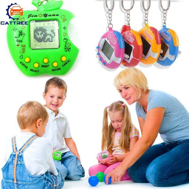 Catree Tamagochi Pet Tiny Chain 168 Pets in 1 Button Games Kids
