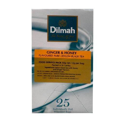 DILMAH GINGER & HONEY TEA 50G/2G*25TB