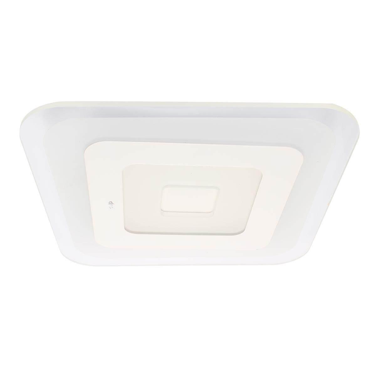 52/64W 3 Color Ultrathin Modern LED Mount Ceiling Down Light Living Room Lamp # 40*40cm 52W