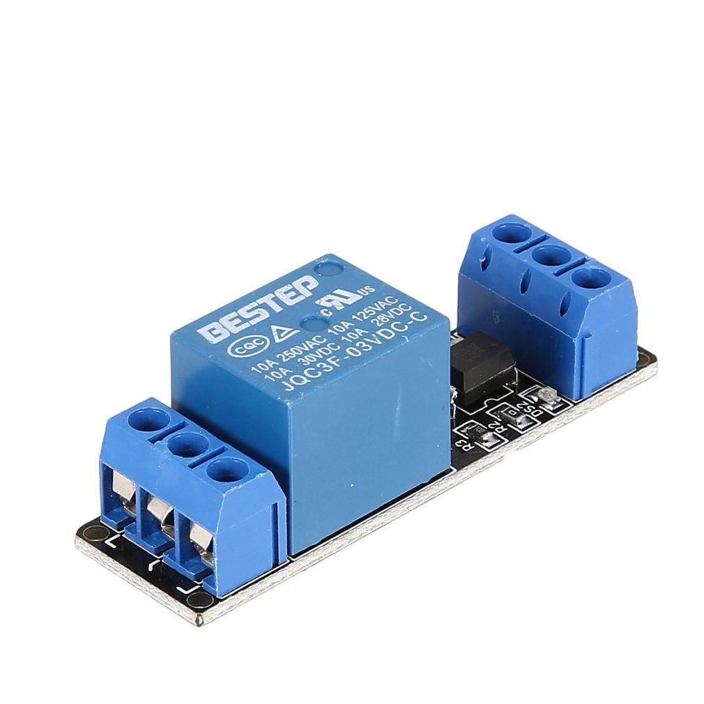 Jual Top 3 V 1 Cara Relay Modul Papan Antarmuka Tingkat Rendah Memicu Optocoupler Arduino