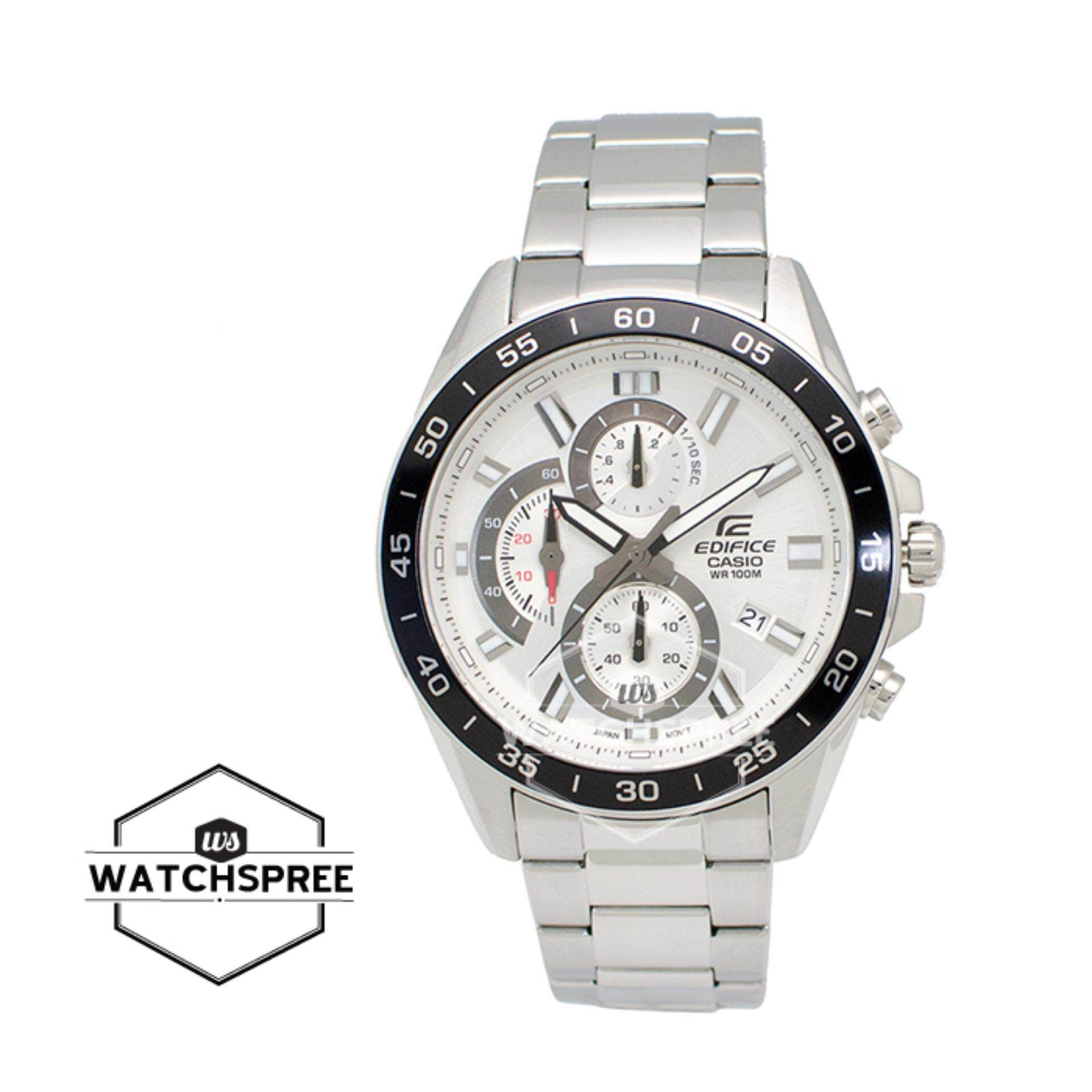 Sell Casio Edifice Stainless Cheapest Best Quality My Store Era 100d 1a4 Myr 465 Standard Chronograph Silver