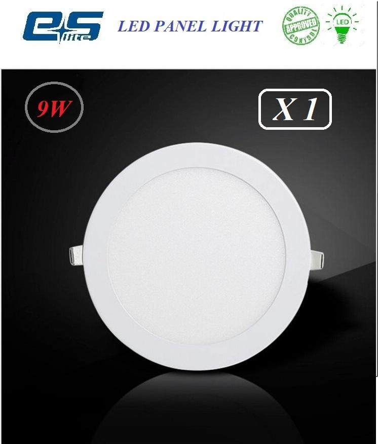 ES LITE LED PANEL LIGHT 9W WARM WHITE [ROUND]